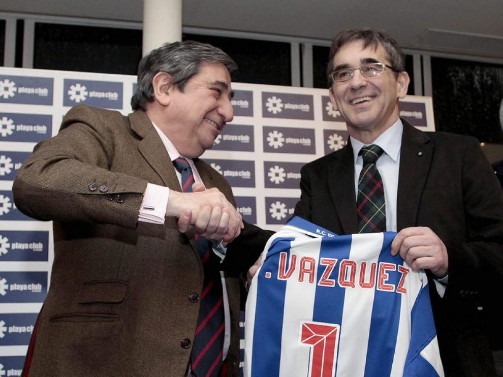 Lendoiro, presidente del Deportivo
