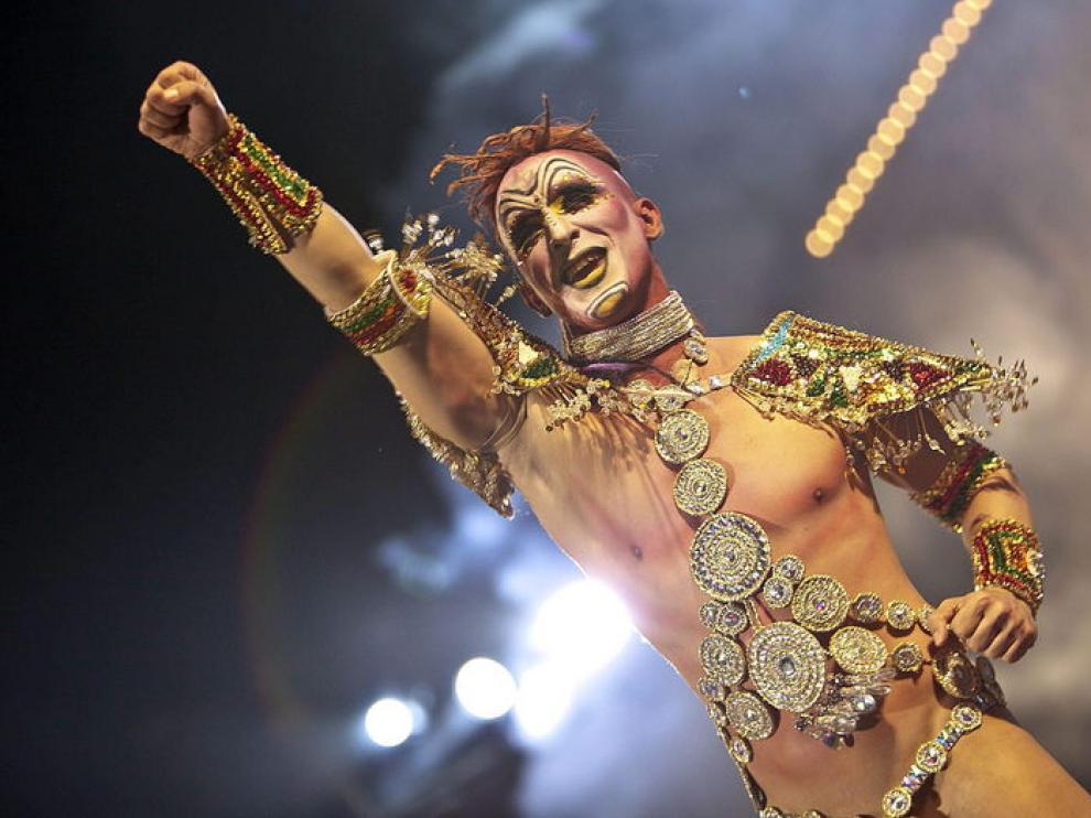 Drag Xoul, el Rey de la Selva, ha ganado la Gala Drag 2013