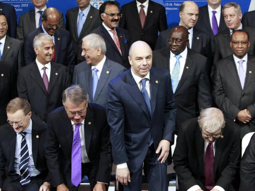 Reunión del G-20, en Moscú