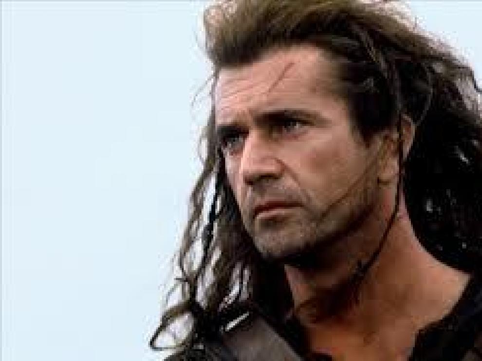 Mel Gibson da vida a William Wallace