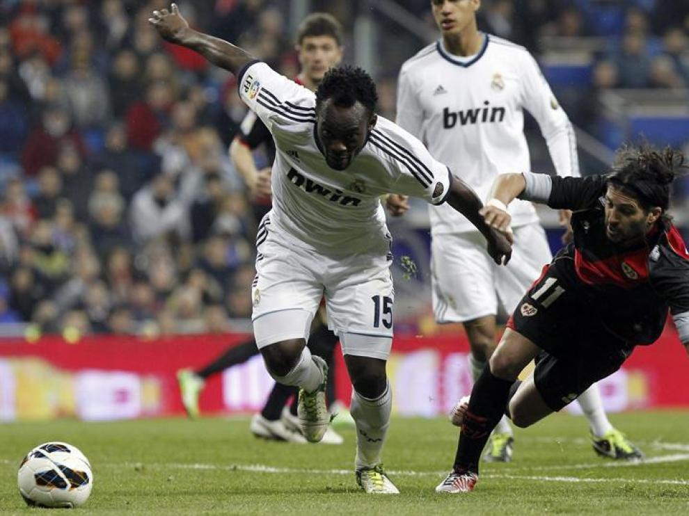 Los madridistas acabaron agotados frente un rival incapaz de marcar.