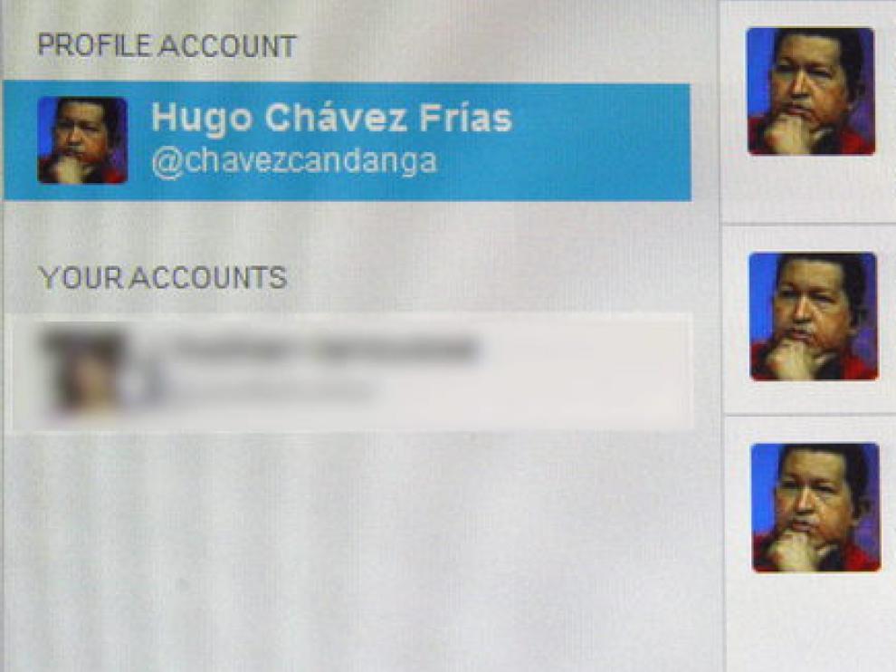 Cuenta de Twitter de Hugo Chávez