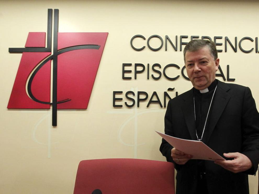 Secretario general de la Conferencia Episcopal Española, Juan Antonio Martínez Camino