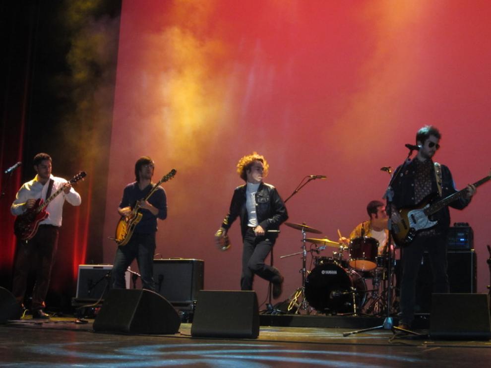 La actuación de The Faith Keepers dio comienzo a la gala.