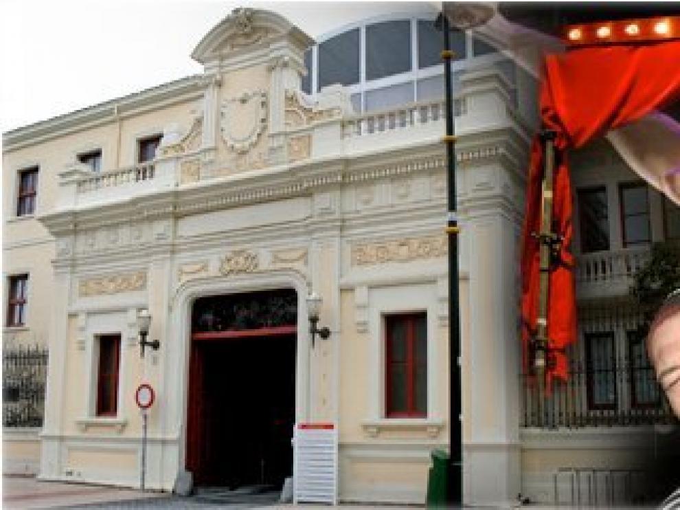 La Escuela Municipal de Teatro, en Zaragoza.