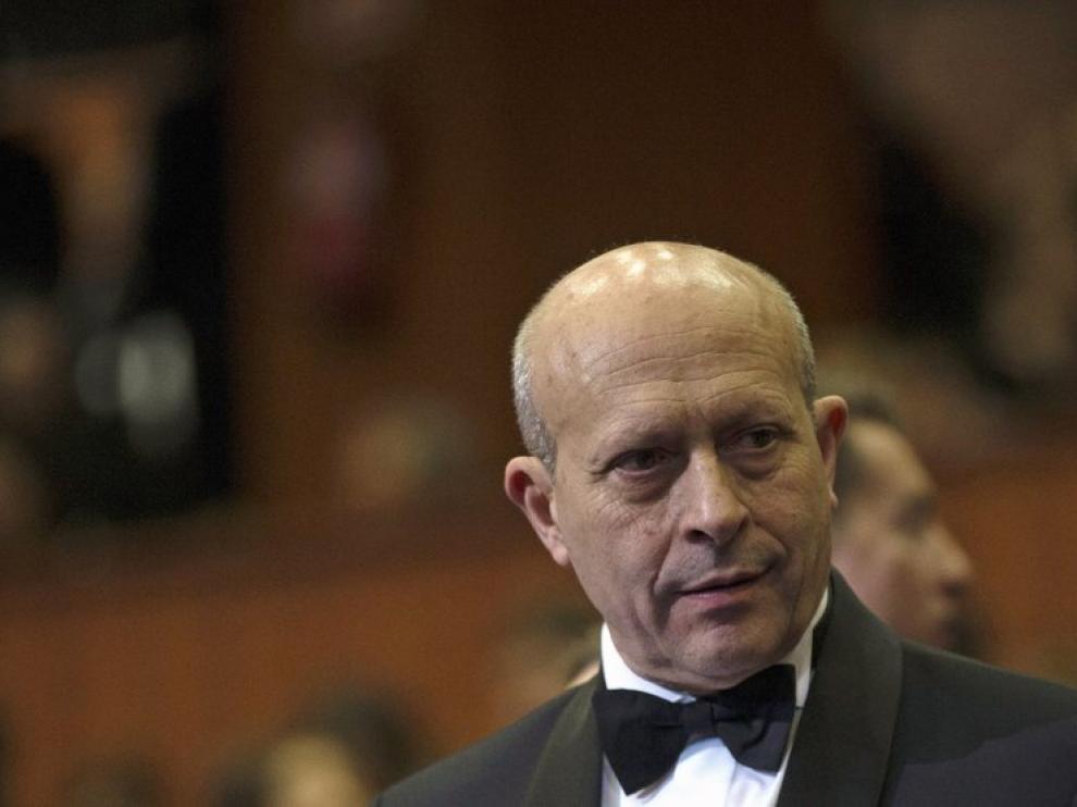 Wert, en la última gala de los premios Goya.