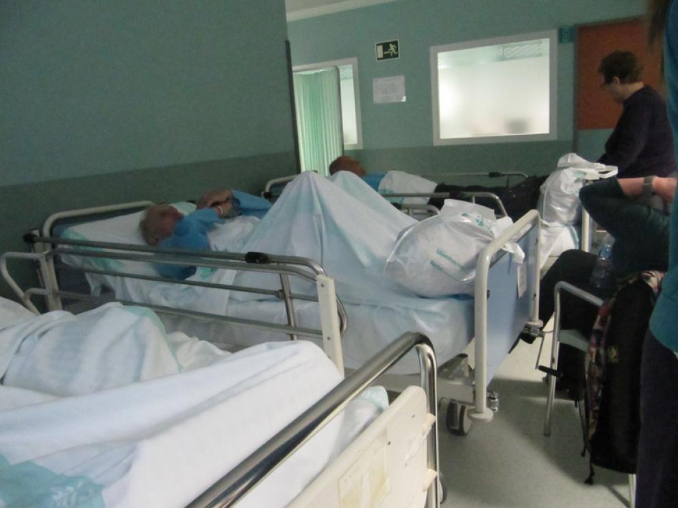 Imagen de la sala de urgencias del Servet