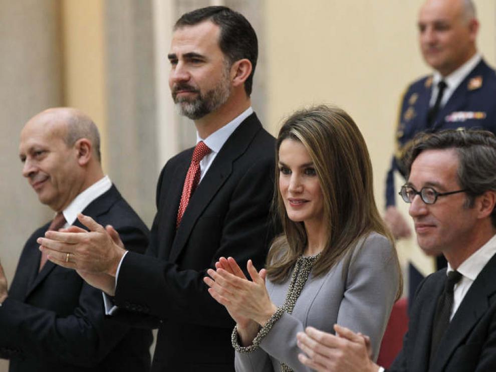 El príncipe de Asturias preside la entrega de los Premios Nacionales de Cultura