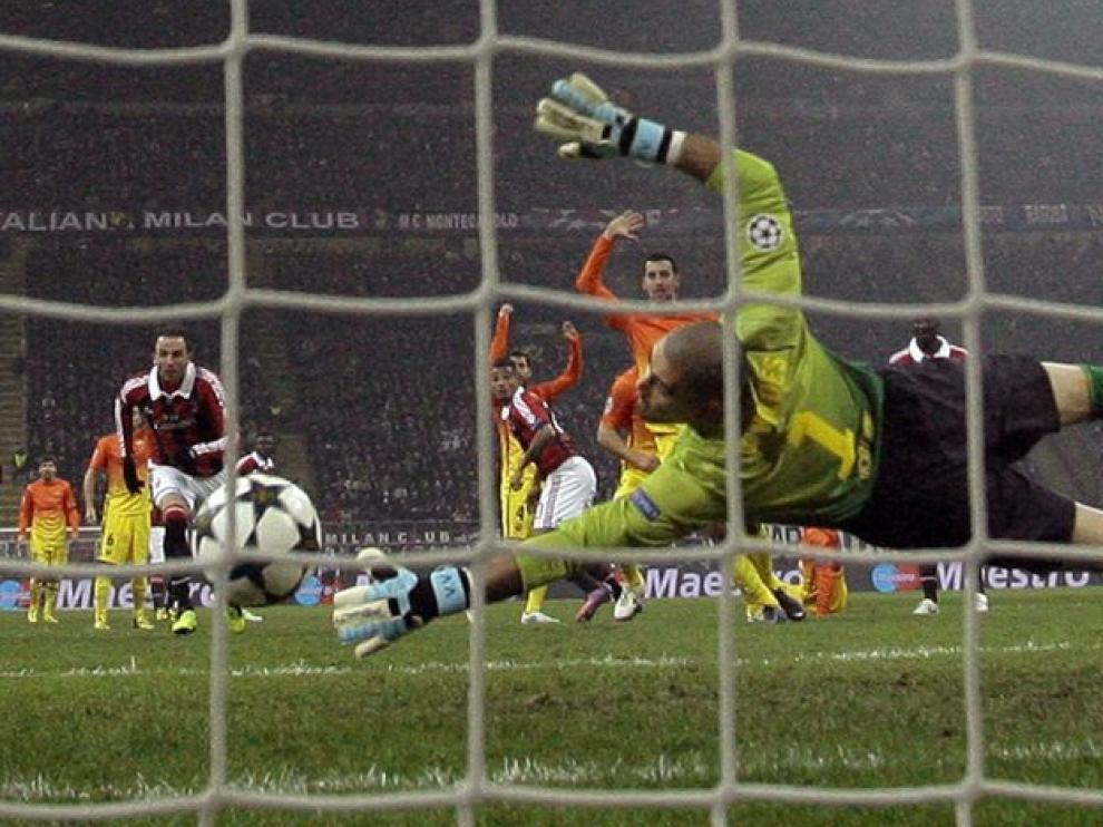 Boateng marcó el primer gol del Milan ante el Barcelona.