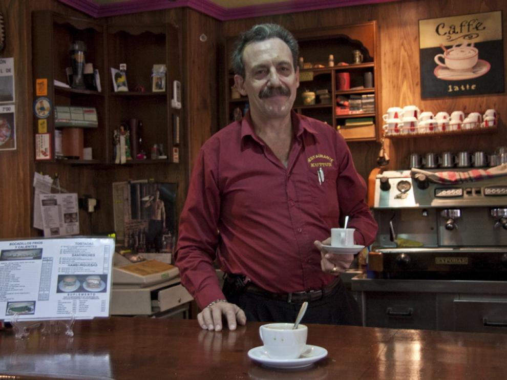 José Antonio, en el Kuttun