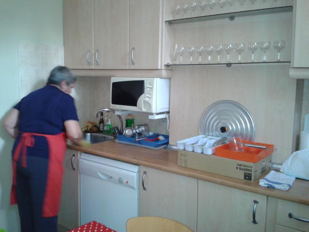 Cocina del nuevo comedor social de Las Fuentes