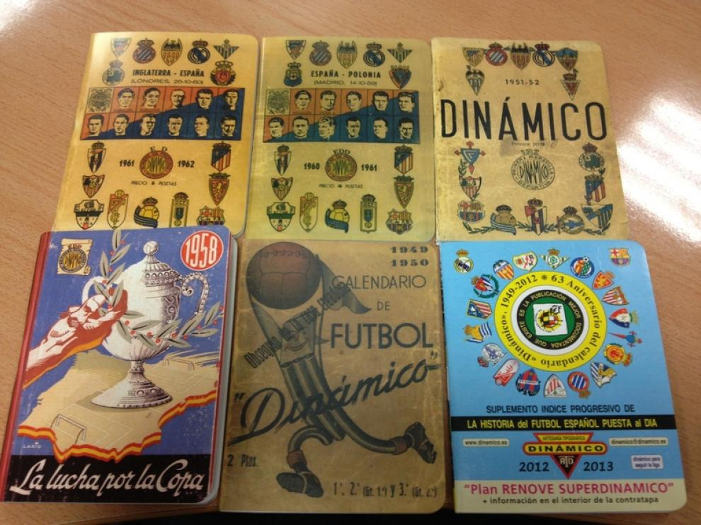 Varias ediciones del Dinámico.