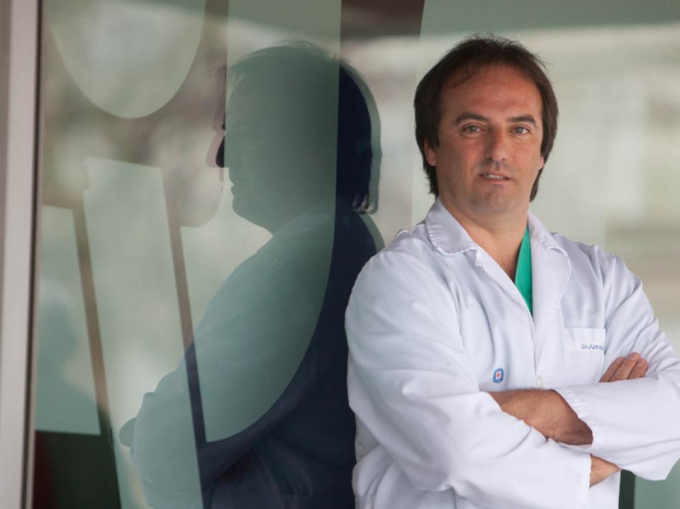 doctor Antonio Urries, Director Unidad Reproducción Asistida Hospital Quirón Zaragoza