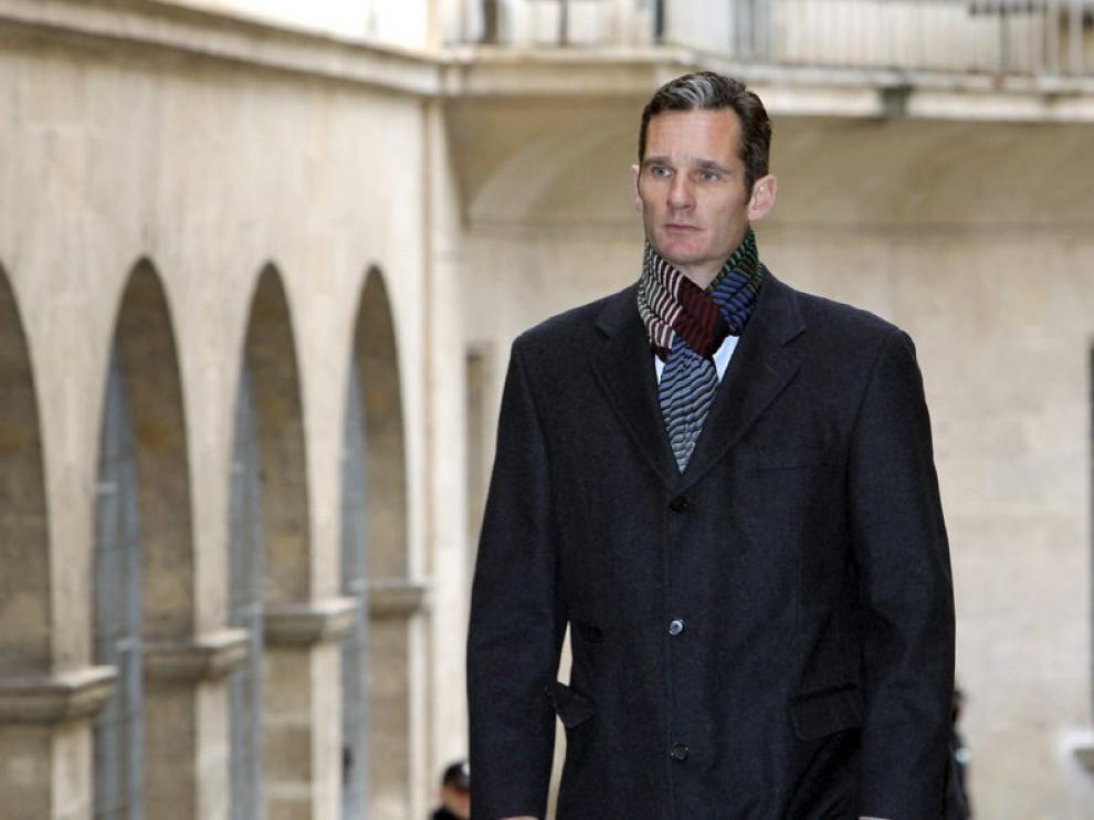 El Duque de Palma abandona los Juzgados