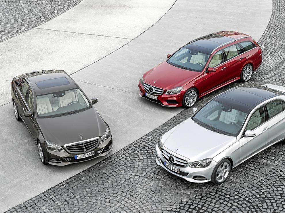 La Clase E presenta nuevos rasgos de diseño y motores