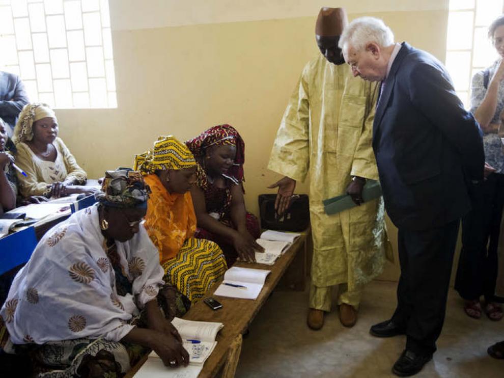 García-Margallo, durante su visita a Mali