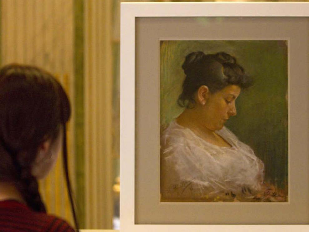 El dibujo ha aparecido tras el cuadro 'Retrato de la madre del artista'