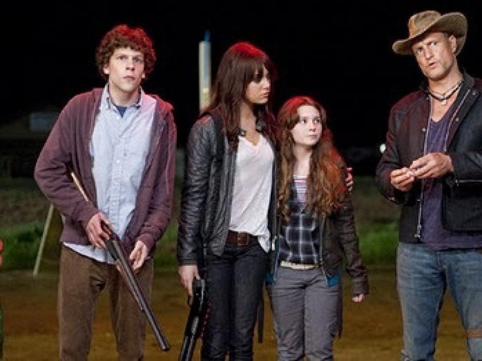 Jesse Eisenberg, Woody Harrelson y Emma Stone protagonizan la cinta
