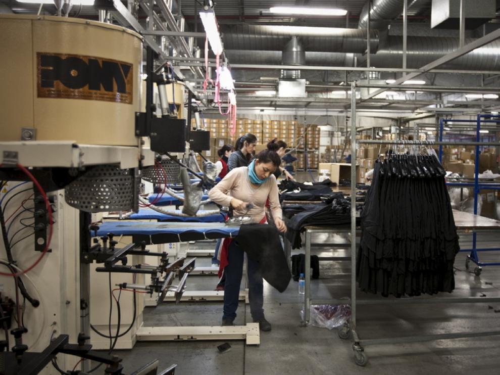 Apyl Textil, empresa aragonesa que exporta a varios países