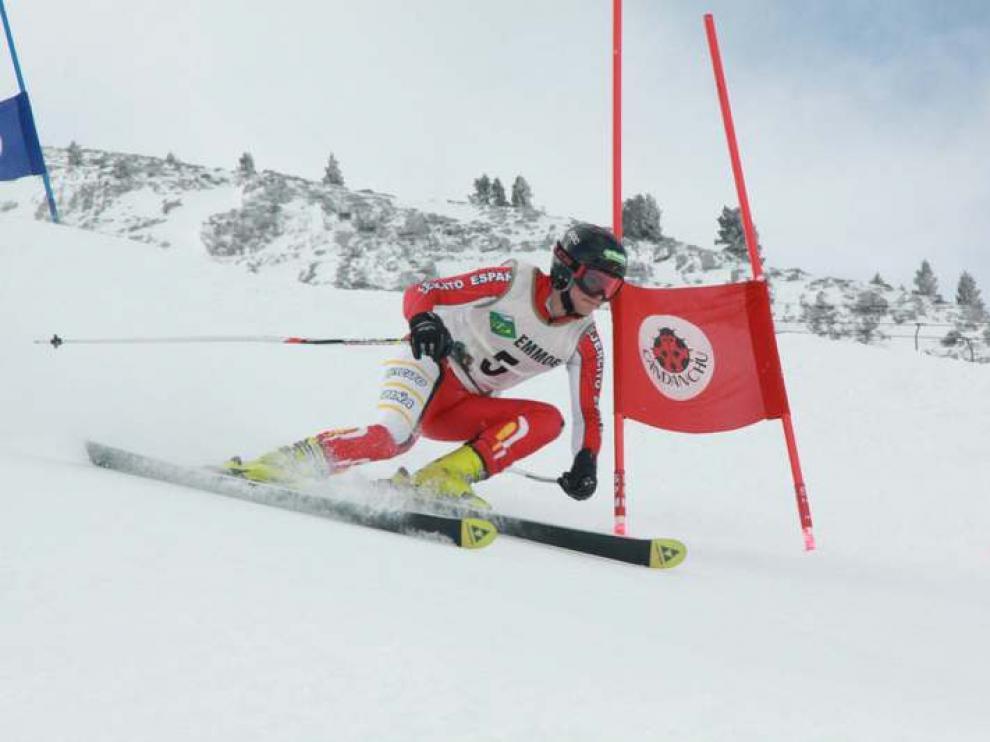 Imagen de una edición anterior del Campeonato Militar de Esquí