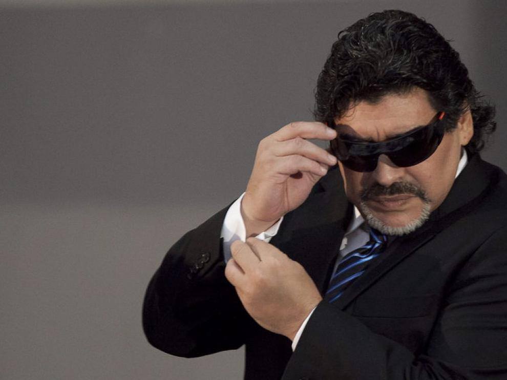 Maradona de nuevo en Nápoles
