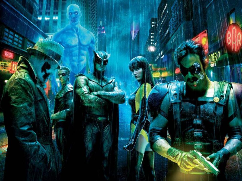 Los 'Watchmen' tendrán que usar sus poderes para protegerse