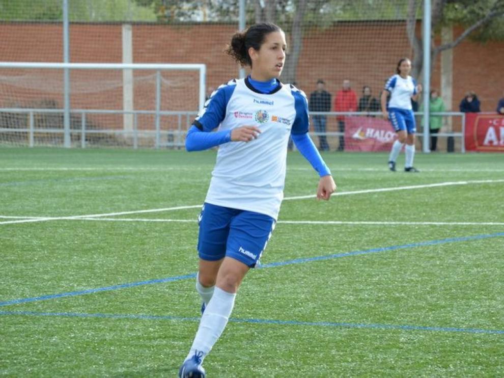 Claudia Neto, jugadora del Prainza Zaragoza