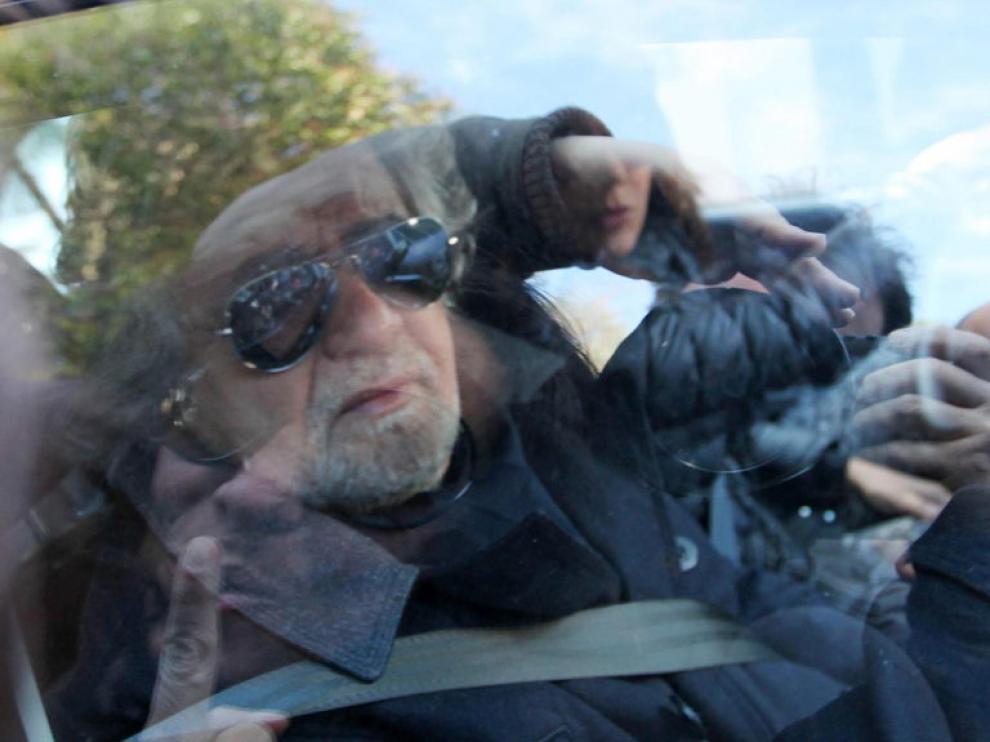 El líder del Movimiento 5 Estrellas italiano, Beppe Grillo