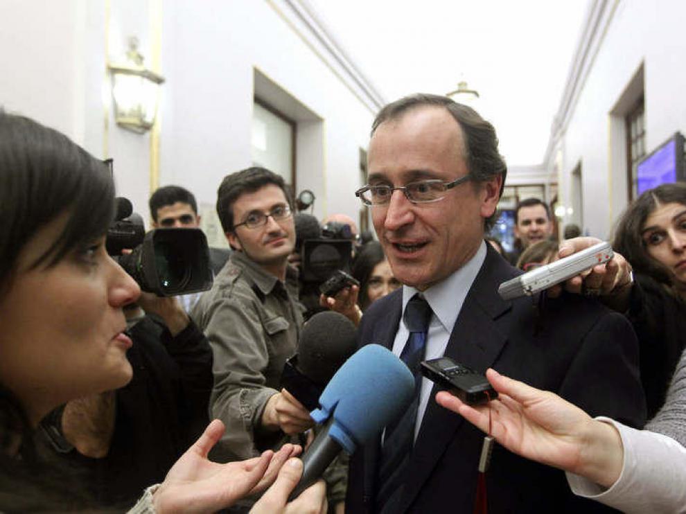 Alfonso Alonso, portavoz del Grupo Popular en el Congreso
