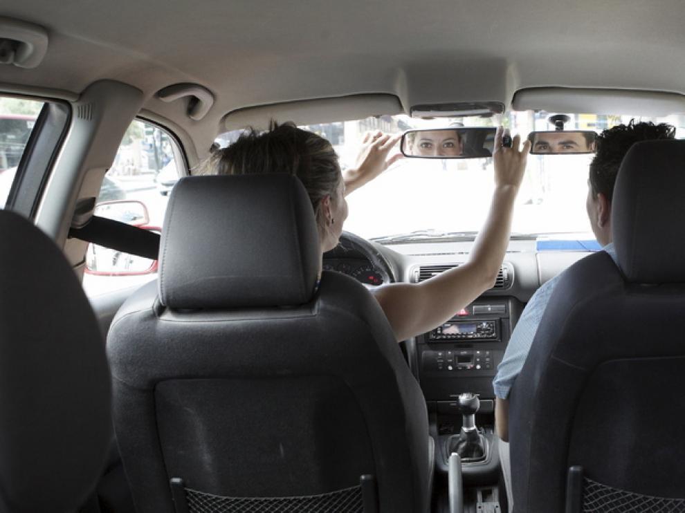GPS en el coche.