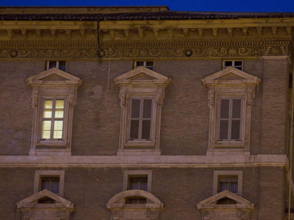 Despacho de Benedicto XVI en el Vaticano
