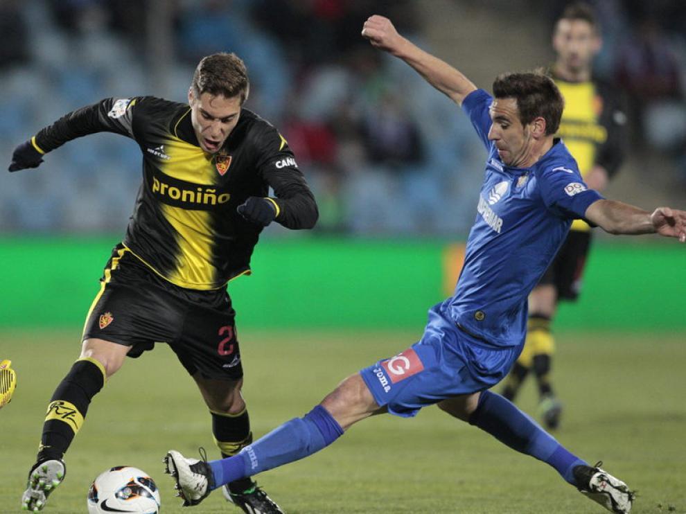 Rubén Rochina, jugador del Real Zaragoza formado en el Barcelona