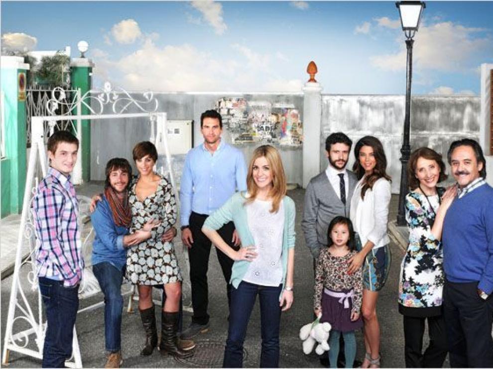 Reparto de la serie 'Familia'