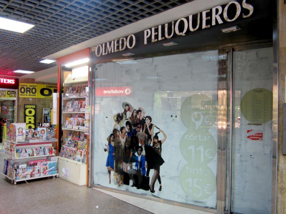 La crisis ha motivado numerosos cierres y reformas de peluquerías en Aragón