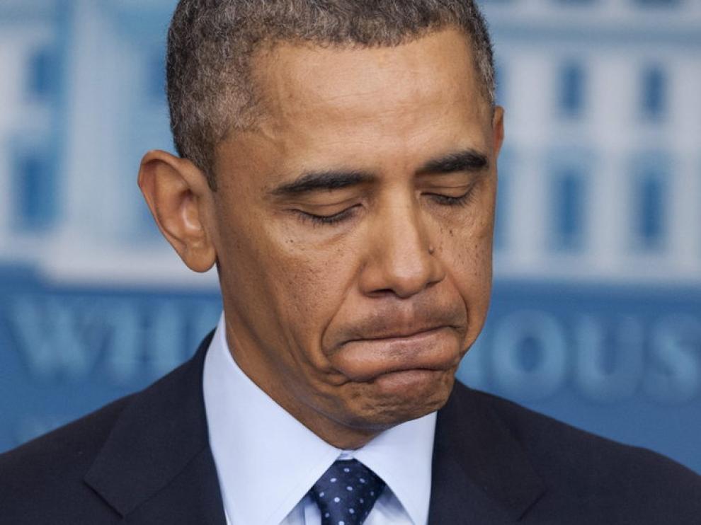 Obama en una reciente comparecencia
