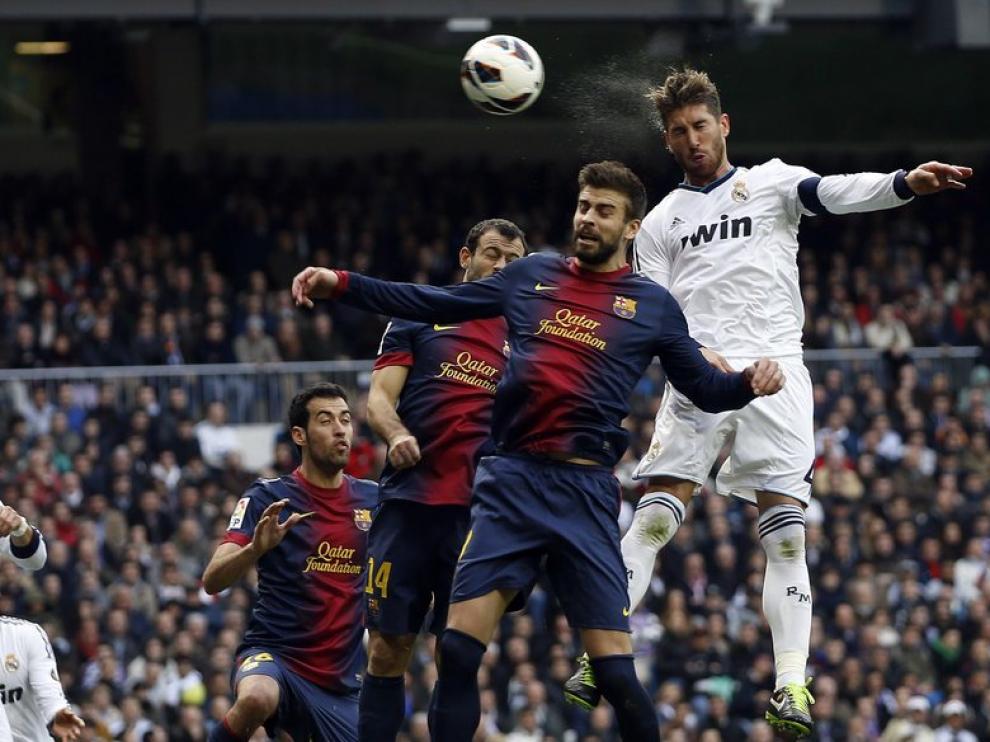 Ramos da el triunfo al R.Madrid