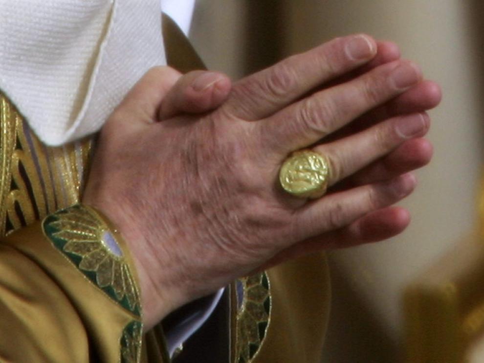 El anillo del Papa