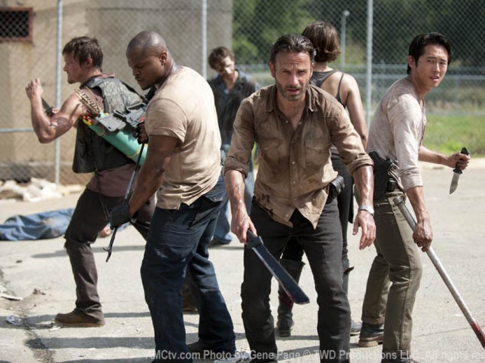 Zombies en 'The Walking Dead'