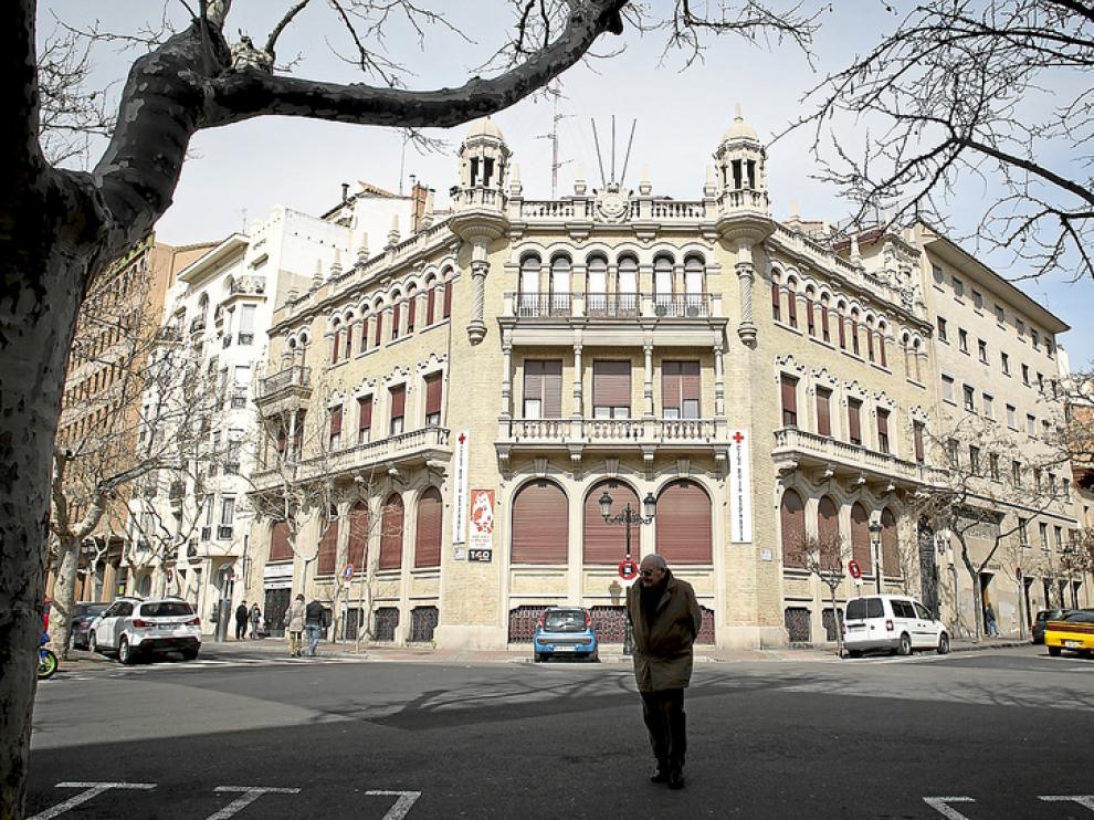 Sede de Cruz Roja Zaragoza.
