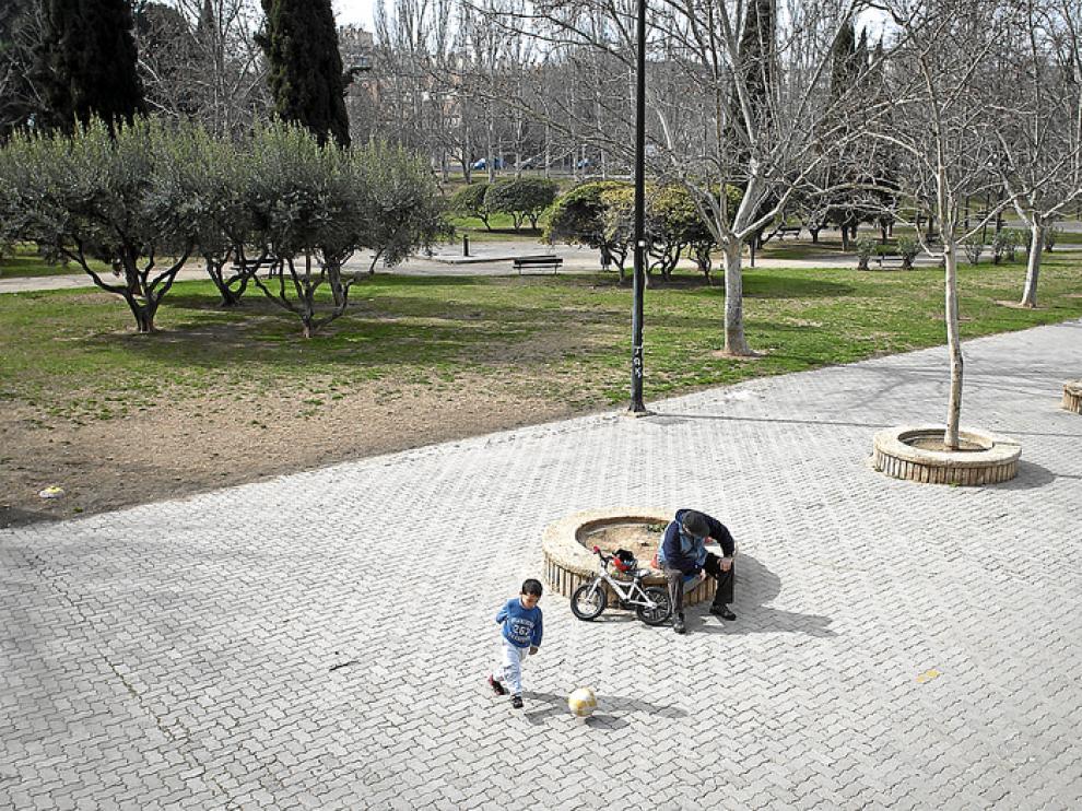 El parque de Torre Ramona