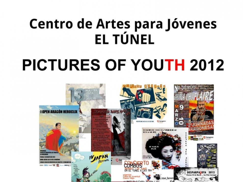 Muestra de carteles de las casas de juventud