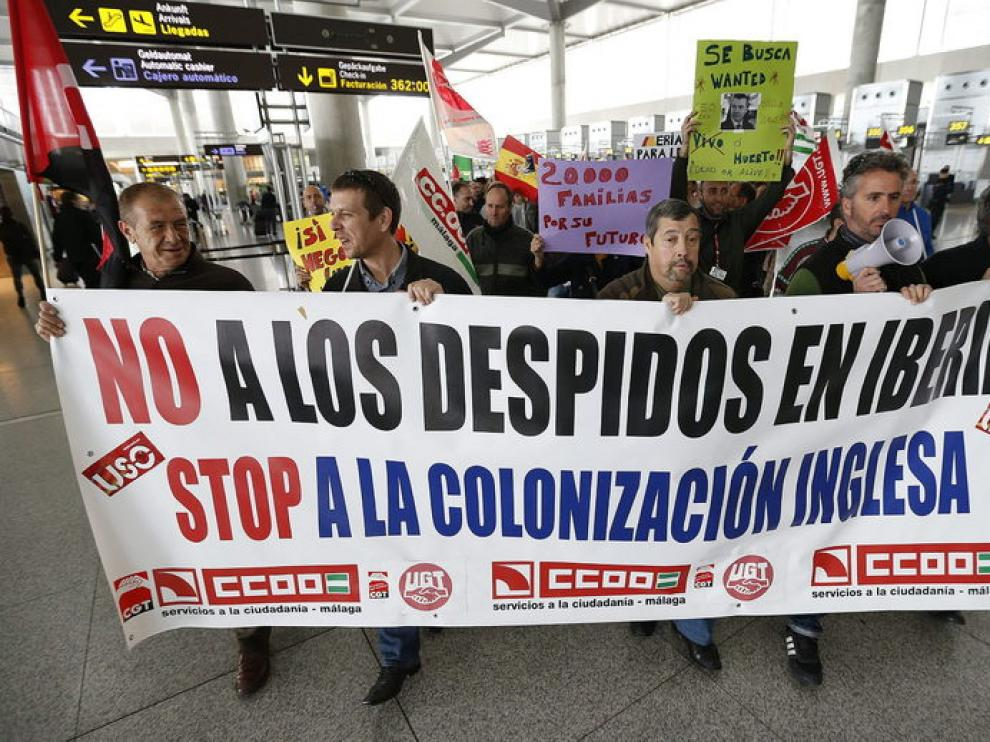 Huelga en Iberia