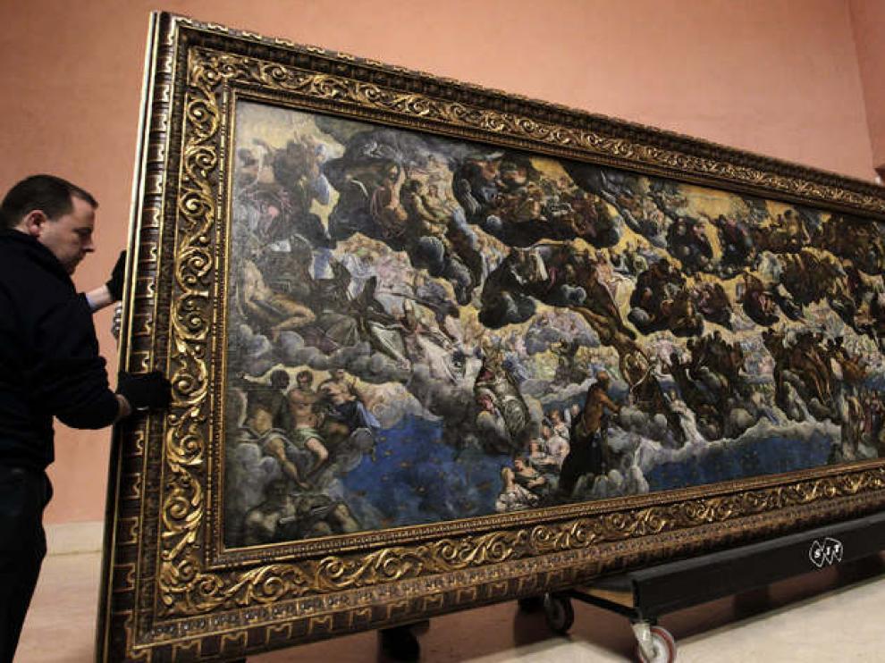'El Paraíso' vuelve a lucir espléndido en el recibidor del Museo Thyssen