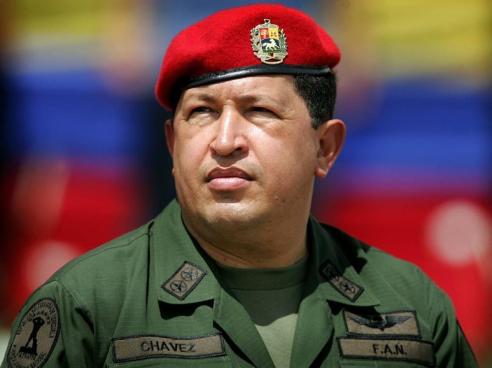 El presidente venezolano Hugo Chávez