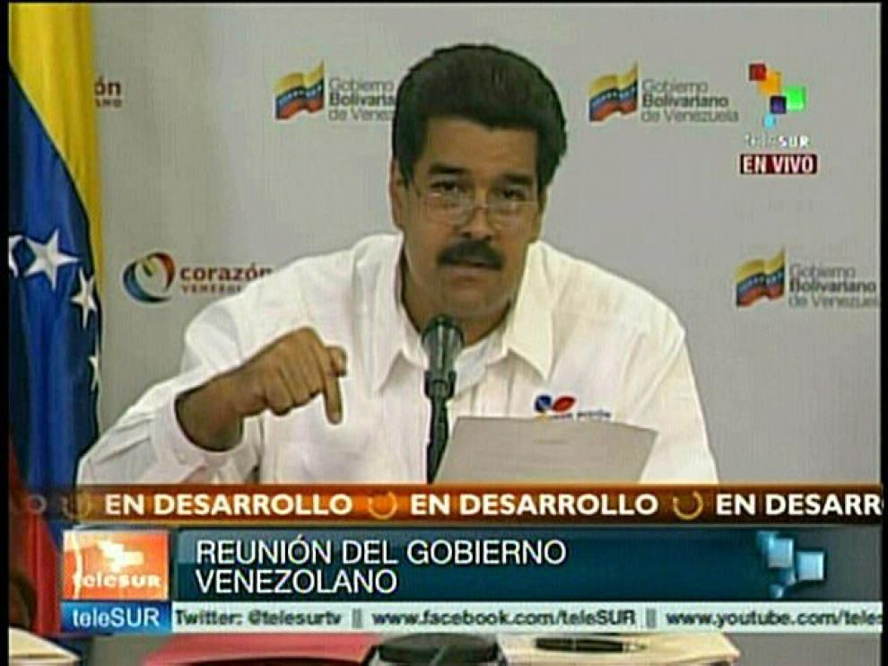 El vicepresidente de Venezuela ha dado un discurso televisado sobre la salud de Chávez