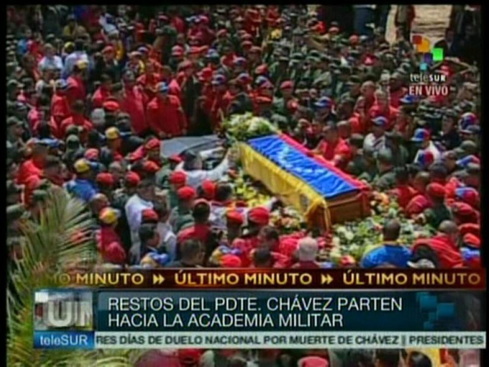 Despedida de Hugo Chávez