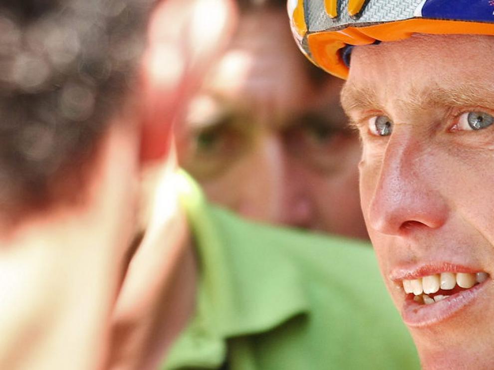 Boogerd, en una imagen del Tour de Francia del 2006.