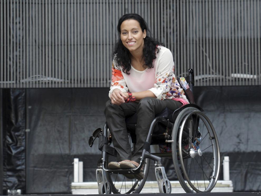 Teresa Perales, propuesta aragonesa para el Premio Príncipe de Asturias
