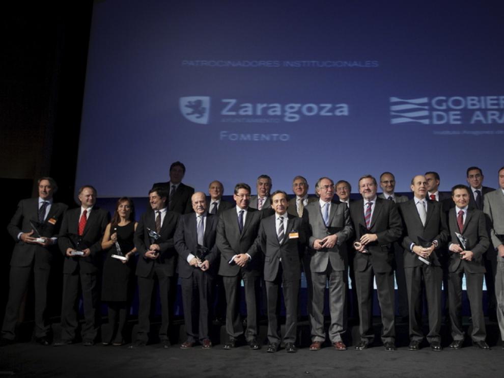 Algunos de los directivos más destacados de Aragón