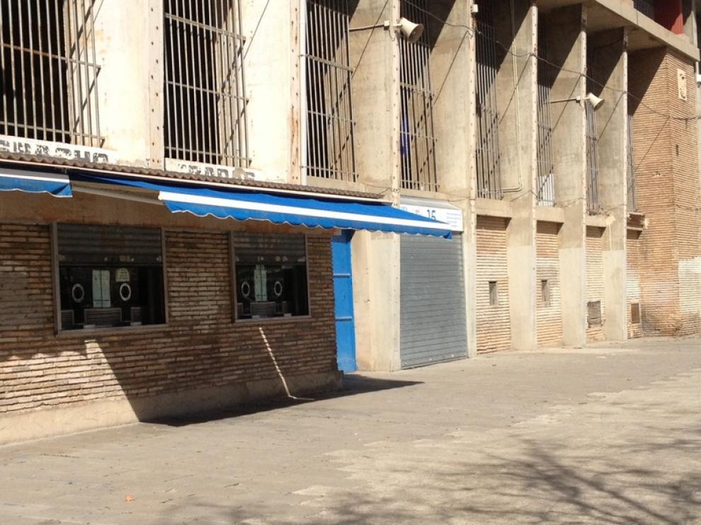 Taquillas del estadio de La Romareda